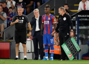 Paris Saint-Germain might end up trying to sign Crystal Palace's Wilfried Zaha if Neymar leaves before the European transfer window shuts.