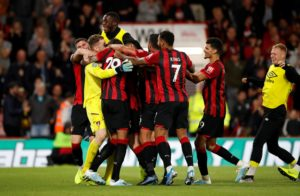 Bournemouth edged past League Two side Forest Green Rovers 3-0 on penalties after being held to a goalless draw in their Carabao Cup second-round tie.