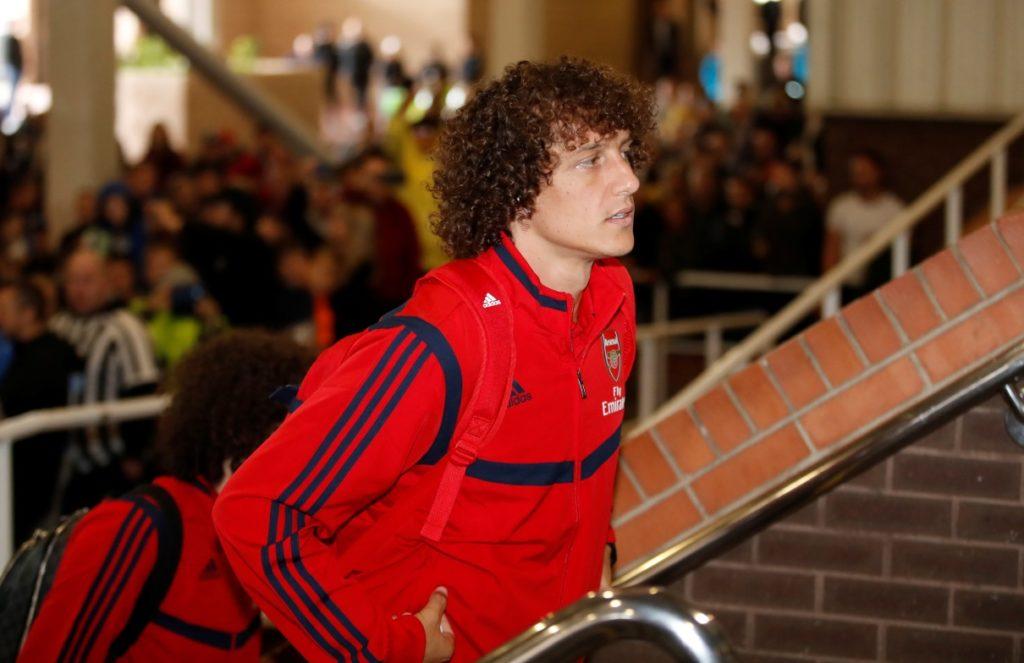 David Luiz wants to take Arsenal back into the big time.
