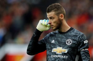 David de Gea is a target for Juventus.