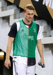 Matthijs de Ligt admits he did not expect to be on the bench for Juventus' opening match of the new Serie A season at Parma on Saturday.