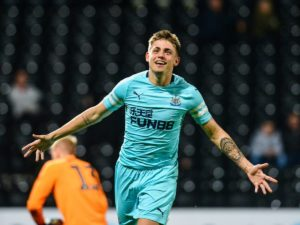Prolific Under-23 striker Elias Sorensen has reportedly agreed to go on loan to Carlisle United while Newcastle scouted more Scandinavian talent on Thursday.