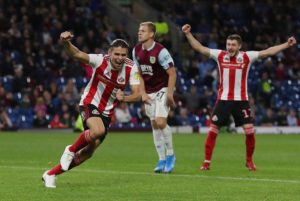 League One Sunderland came from behind to beat Premier League Burnley 3-1 in the second round of the Carabao Cup at Turf Moor.
