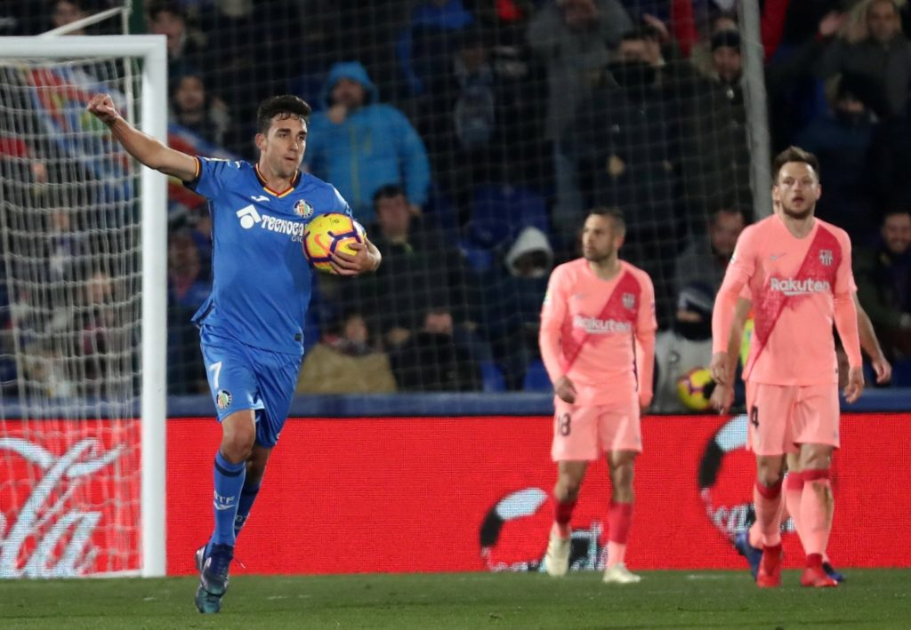 Getafe forward Jaime Mata has dismissed speculation linking him with a move to Espanyol before the close of the transfer window.