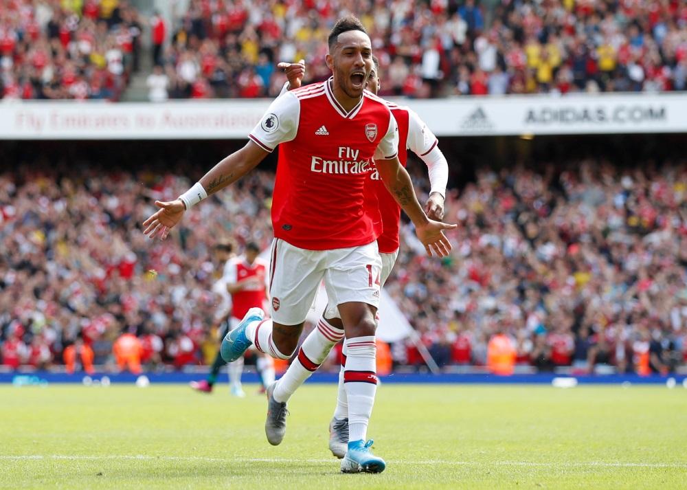 Pierre-Emerick Aubameyang was on target against Watford.