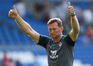 Ralph Hasenhuttl is hoping for some home comforts.