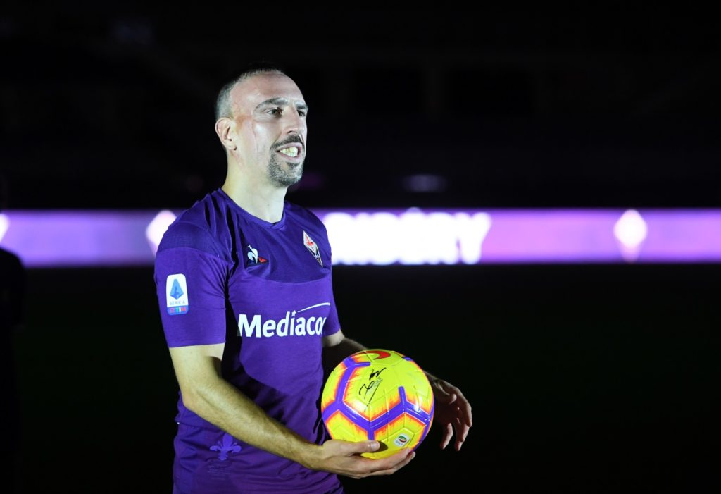 Former Fiorentina midfielder Alberto Aquilani has praised the impact made by new signing Franck Ribery.