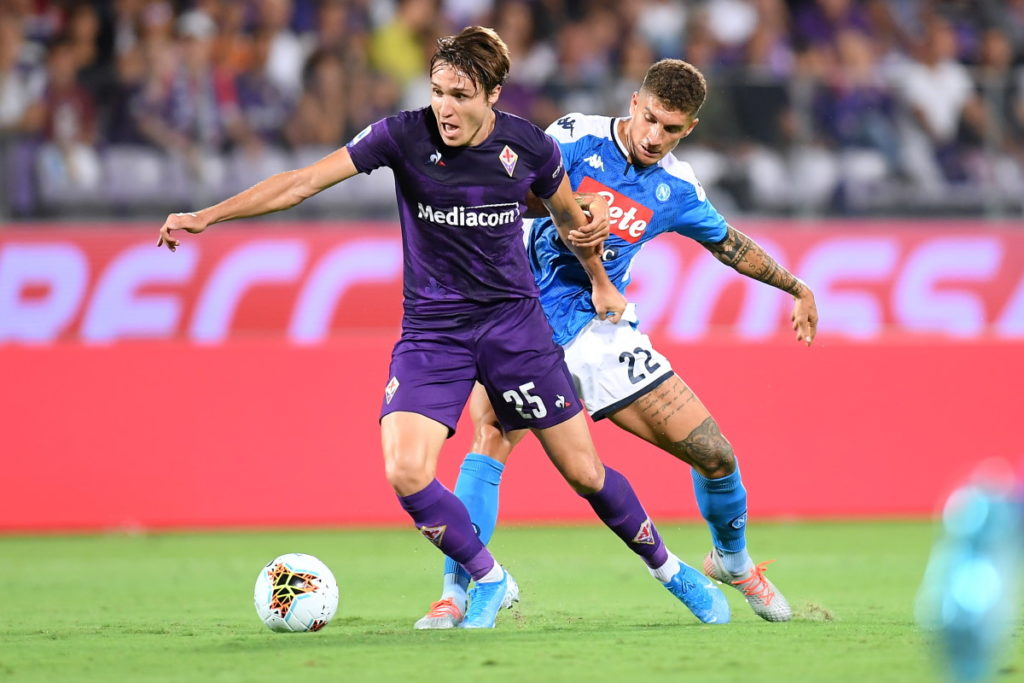 Fiorentina managed to keep hold of Federico Chiesa during the summer but two Italian heavyweights remain keen on the forward.