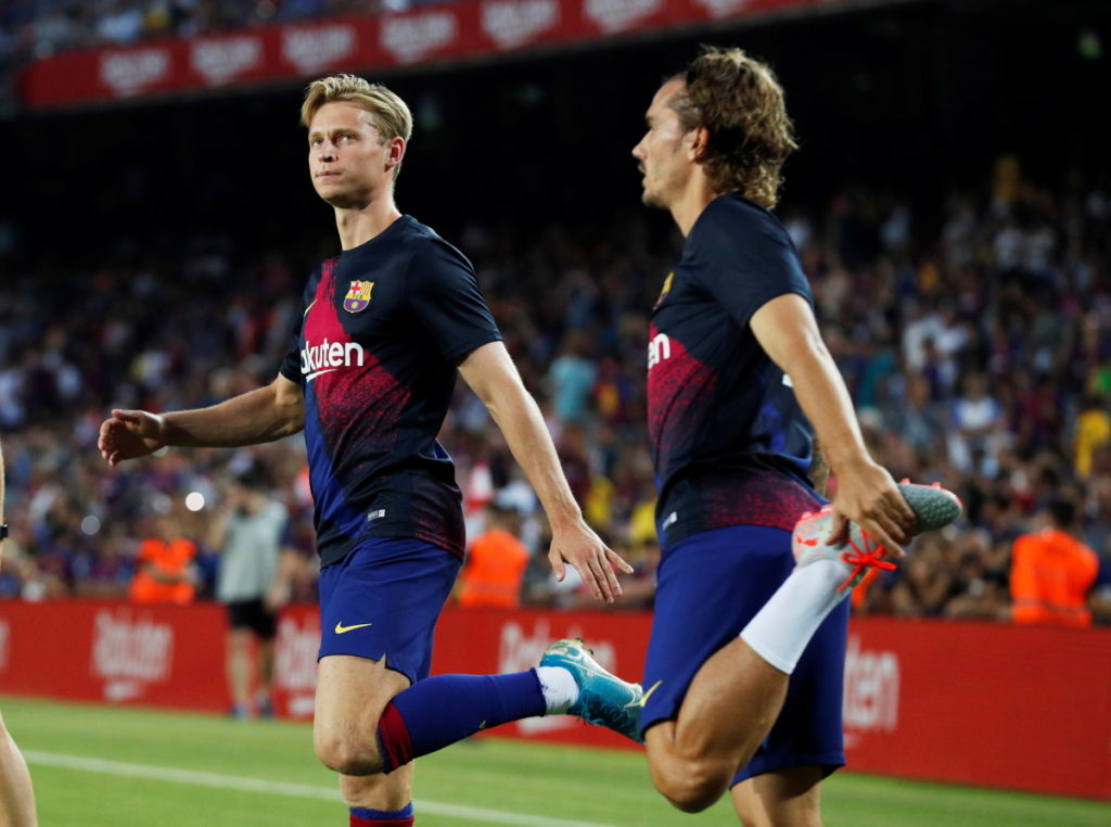 Sergio Busquets has backed fellow midfielder Frenkie De Jong to be a success at Barcelona.