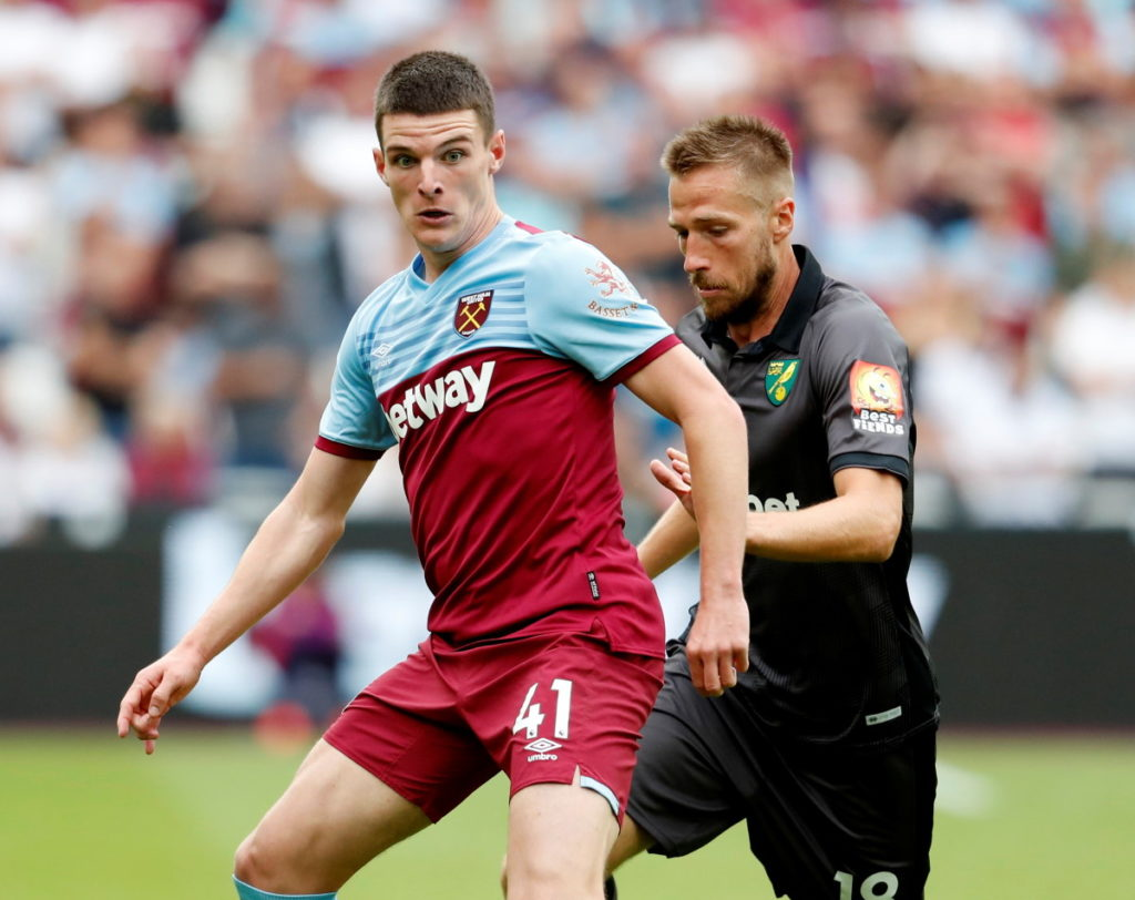 West Ham midfielder Declan Rice is delighted with Sebastien Haller's impact since his arrival during the summer transfer window.