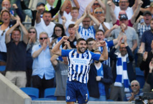 Brighton new-boy Neal Maupay says he never had any doubts that he would be able to score goals in the Premier League.