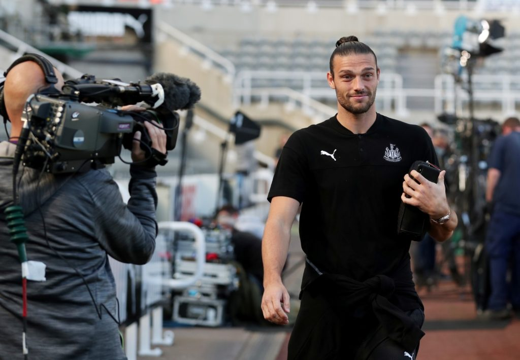 Andy Carroll says his return to fitness is coming along nicely as he targets more minutes in the Newcastle first team.