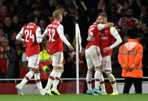 Arsenal booked a place in the fourth round of the Carabao Cup with a 5-0 thrashing of Nottingham Forest at the Emirates Stadium.