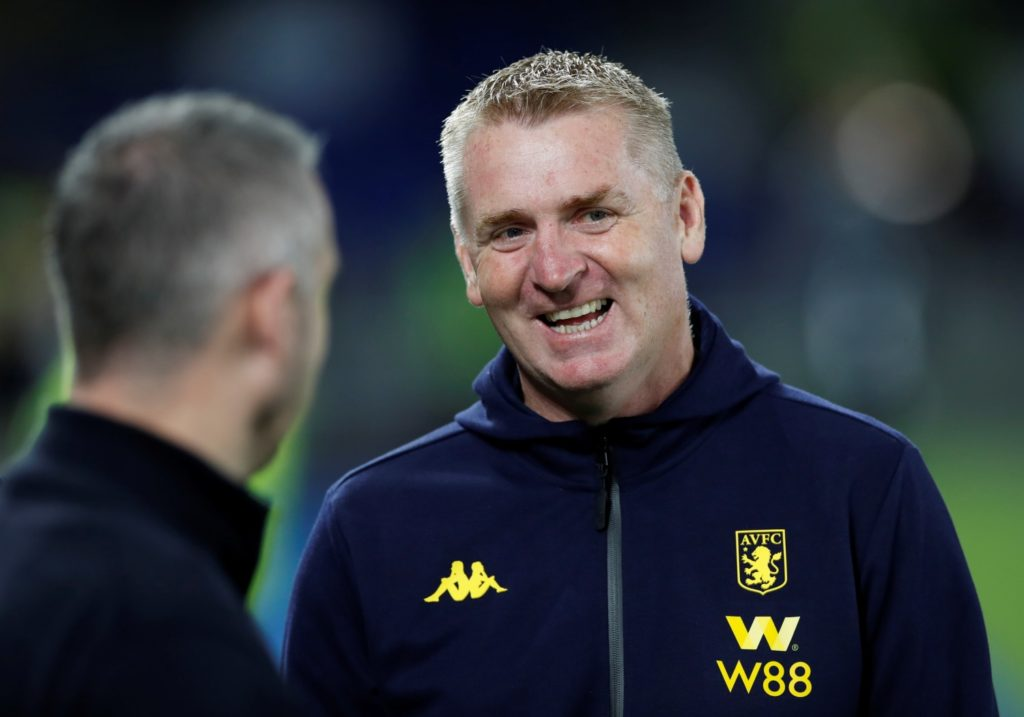"""Dean Smith praised the """"attitude, application and teamwork"""" of his much-changed Aston Villa side after seeing them win 3-1 at Brighton Wednesday."""