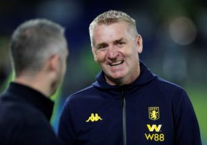 "Dean Smith praised the ""attitude, application and teamwork"" of his much-changed Aston Villa side after seeing them win 3-1 at Brighton Wednesday."