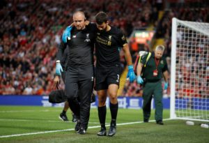 Liverpool goalkeeper Alisson has provided a positive fitness update as he continues his recovery from a calf injury.