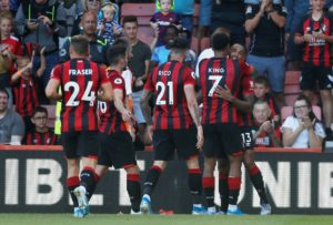 England striker Callum Wilson scored twice as Bournemouth secured a convincing 3-1 victory at home to Everton at the Vitality Stadium.