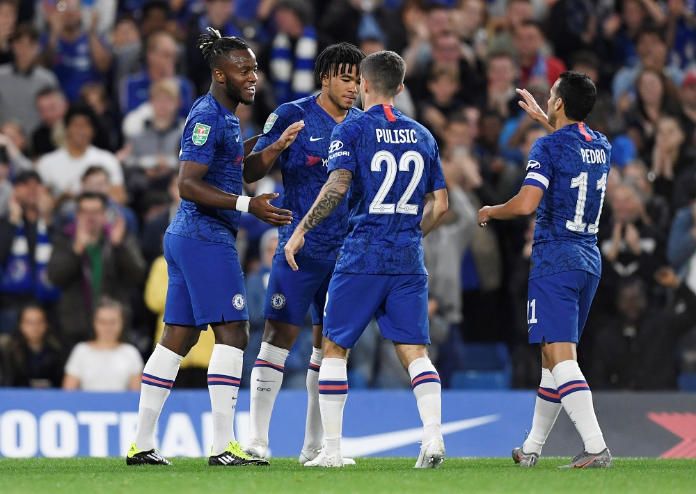 Chelsea enjoyed a comfortable evening as they saw off Grimsby Town 7-1 in their Carabao Cup third-round clash at Stamford Bridge.