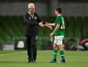Charlton Athletic midfielder Josh Cullen admitted he was in dreamland after his man of the match display on debut for the Republic of Ireland.