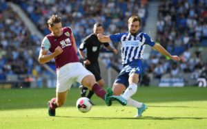 Brighton boss Graham Potter has explained the surprise absence of midfielder Davy Propper from his side at the weekend.