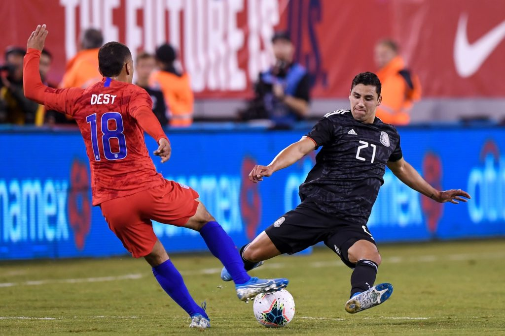 Ajax's Sergino Dest was delighted to make his USA debut against Mexico but feels he still has much to learn.