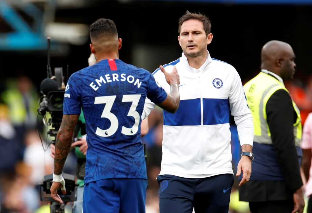 Chelsea defender Emerson has reassured supporters that the injury he picked up on international duty is not too serious.