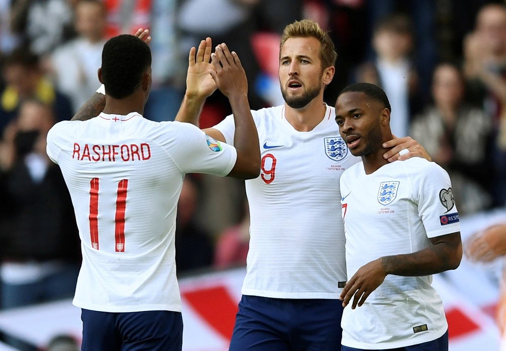 Skipper Harry Kane scored a hat-trick as England comfortably swept aside Bulgaria 4-0 in their European Championship qualifier at Wembley.