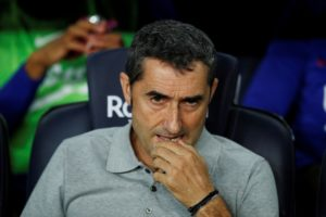 Ernesto Valverde says Barcelona need to put an end to their troubles away from home soon with their travel sickness having carried over from last season.