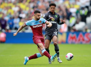 West Ham United right-back Ryan Fredericks feels the club can be happy with the start they have made to the new Premier League season.