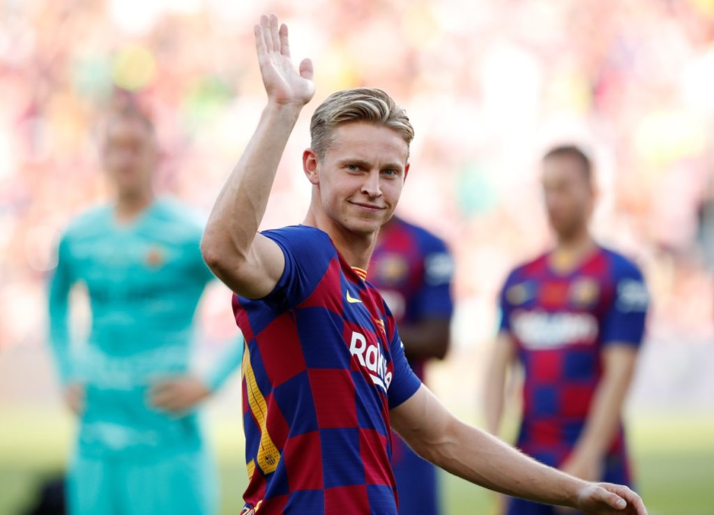 """Frenkie de Jong says he's relaxed about his indifferent start to life at Barcelona, although he admits he's been """"a bit flat so far"""""""