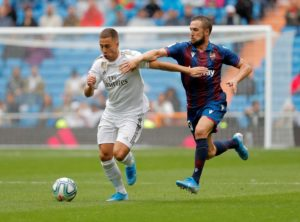 Real Madrid's Eden Hazard has taken a thinly-veiled dig at Chelsea and English football in general after his debut for the Spanish giants.