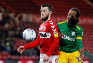"""Middlesbrough ace Jonny Howson hopes to be back in action within a """"couple of weeks"""" following hernia surgery."""