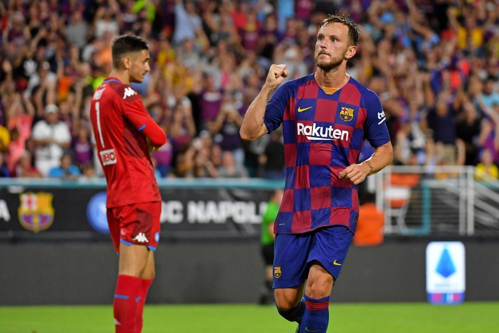 Ivan Rakitic looks set for the Barcelona exit door.