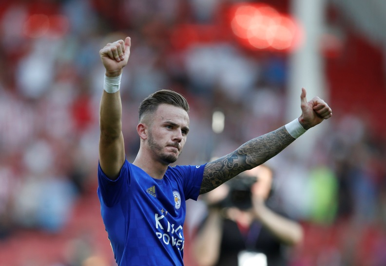 James Maddison has picked up a calf injury.