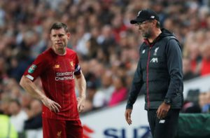 James Milner was singled out for special praise by Liverpool boss Jurgen Klopp this week as the 33-year-old continues to shine.