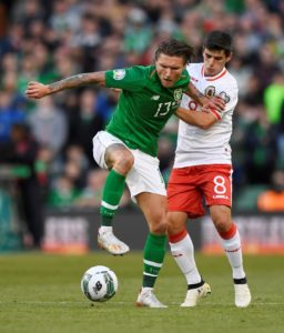 Jeff Hendrick looks set to win his 50th cap for the Republic of Ireland and he is not the only surprise name to boast such an impressive international career.