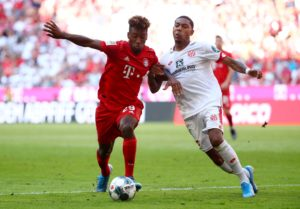 Kingsley Coman says he wants to be the man to help fill the void left by Arjen Robben and Franck Ribery at Bayern Munich this season.