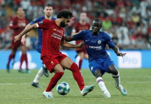 Leaders Liverpool go to Chelsea on Sunday with no fresh injury worries but Divock Origi is unlikely to feature.