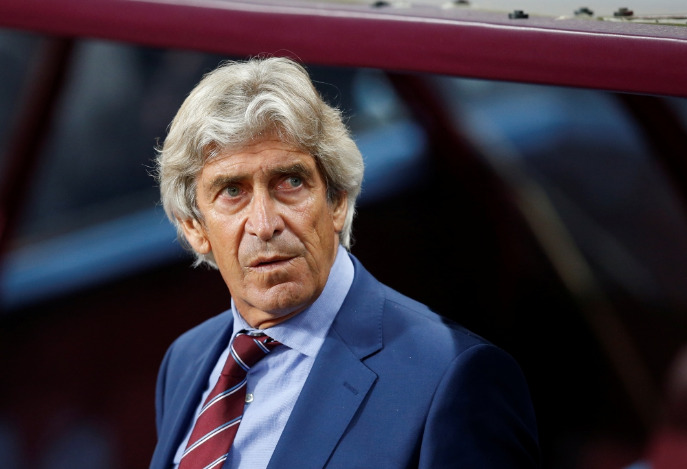 "West Ham boss Manuel Pellegrini has bemoaned the decision to send off Arthur Masuaku in Monday's 0-0 draw at Aston Villa, calling it an ""away"" red card."