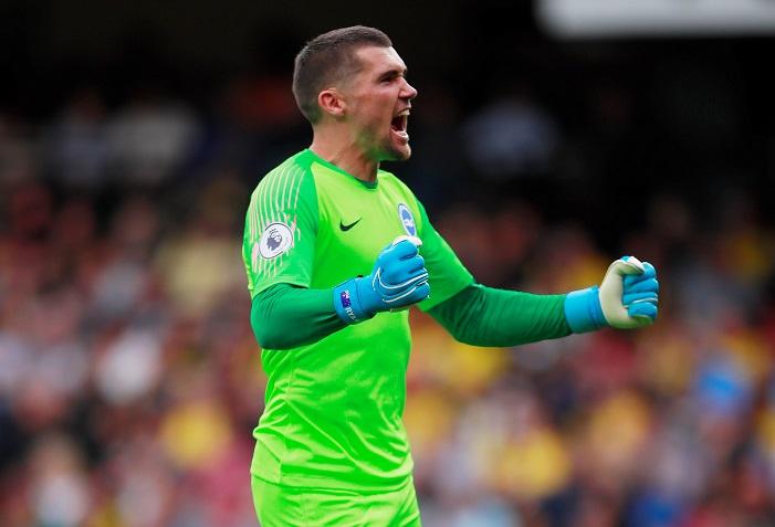 Brighton goalkeeper Mathew Ryan