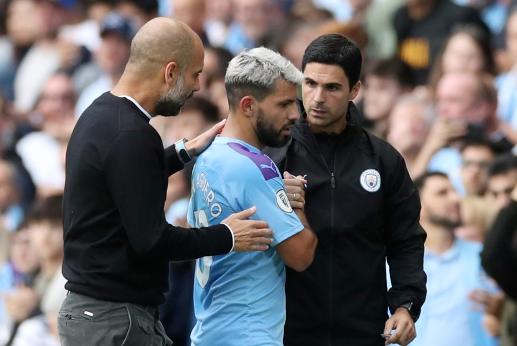 Pep Guardiola did not intend to suggest Mikel Arteta would succeed him as boss at Manchester City, according to club insiders.