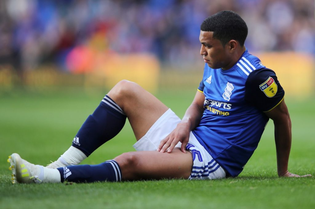 Birmingham City have been dealt a blow with the news that winger Jefferson Montero will be out for some time with a thigh injury.