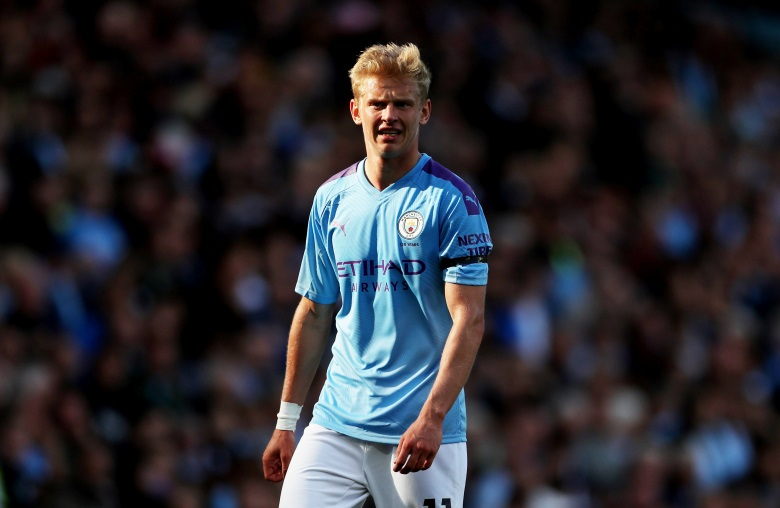 Manchester City have valued Oleksandr Zinchenko at £40million following a recent approach by Juventus for the winger turned left-back.