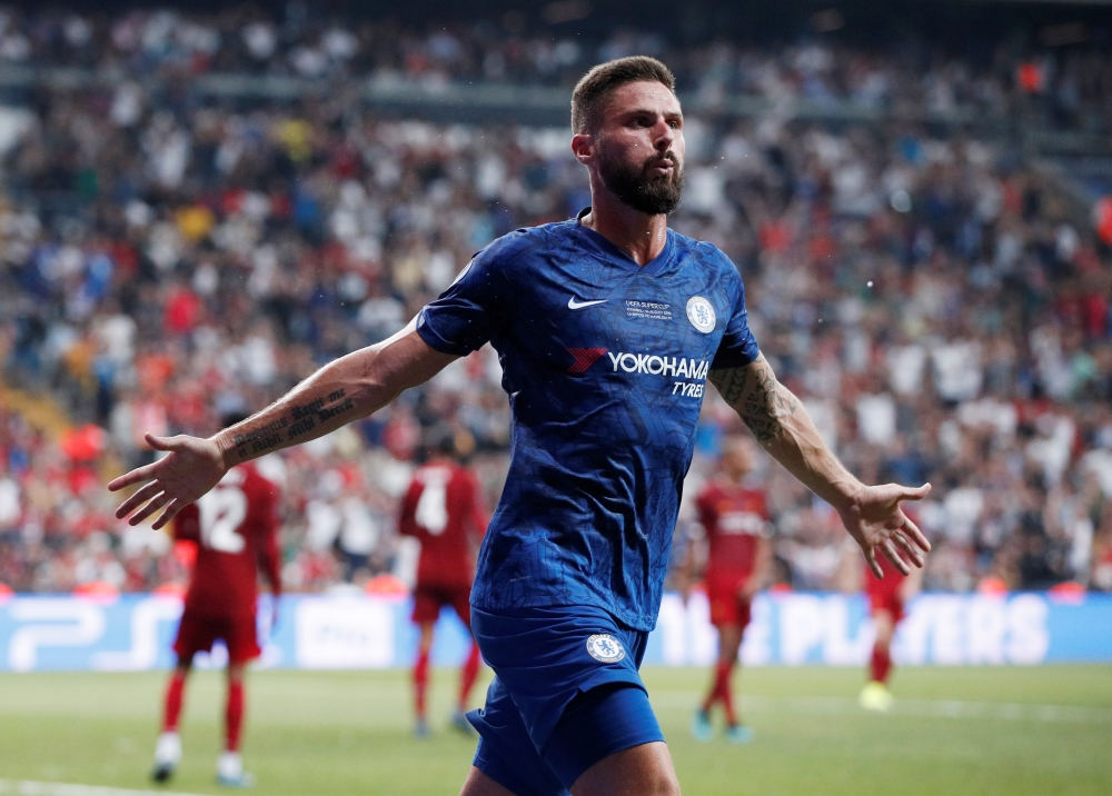 Olivier Giroud has revealed a move to the MLS would interest him as he weighs up his options after falling out of favour at Chelsea.