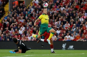 Not many people would have predicted Teemu Pukki would win the first Premier League Player of the Month of the season, but he is not the first surprise winner.