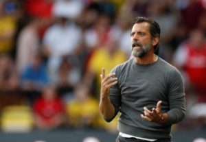 Watford boss Quique Sanchez Flores thinks his side are scared of playing Manchester City after the humiliating loss on Saturday.