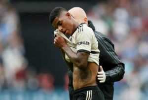 "Ole Gunnar Solskjaer says Marcus Rashford's injury could keep him out of action for ""a little while"", leaving the Manchester United boss with a striker crisis."