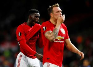 Axel Tuanzebe will get another chance to impress in Manchester United's Carabao Cup clash with Rochdale on Wednesday but Phil Jones might not.