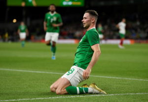 Alan Browne hopes to feature in the Republic of Ireland's crucial Euro 2020 qualifying showdowns with Georgia and Switzerland after scoring against Bulgaria.