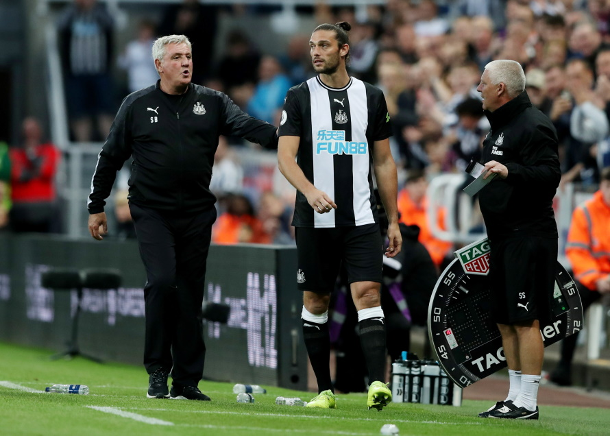 Steve Bruce was left searching desperately for positives after seeing his Newcastle team scrape a 0-0 draw against Brighton at St James' Park.